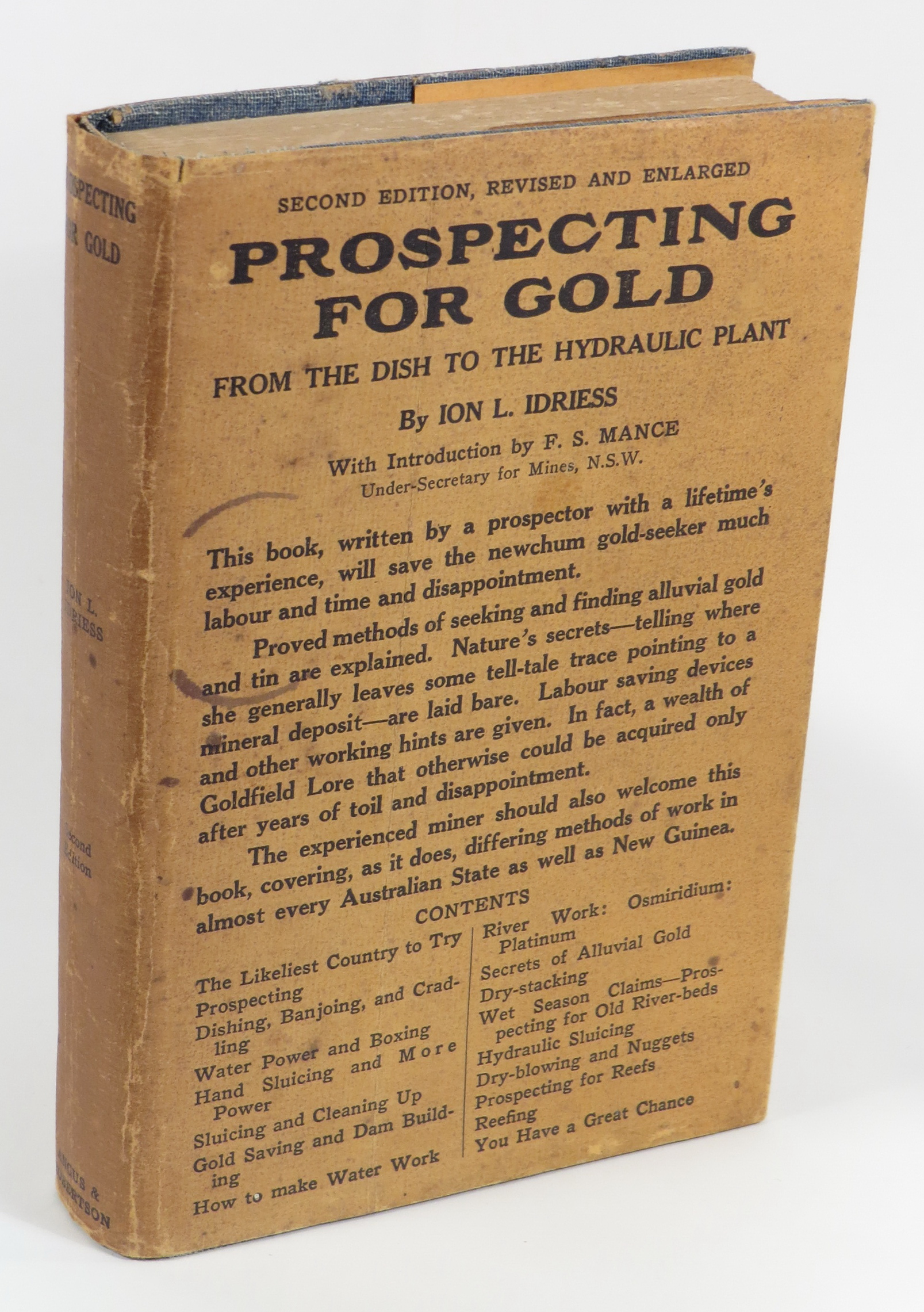 Image for Prospecting for Gold - From the Dish to the Hydraulic Plant