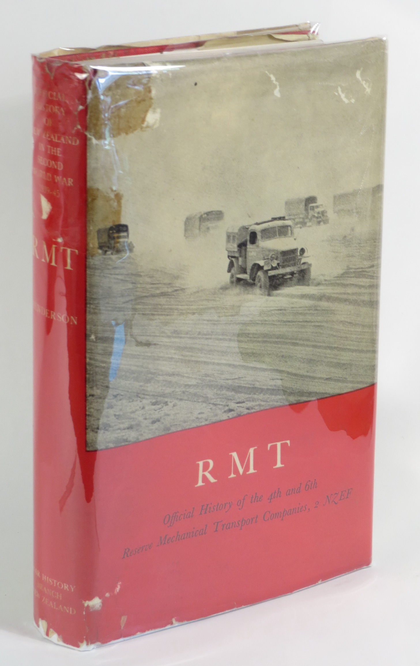 Image for RMT: Official History of the 4th and 6th Reserve Mechanical Transport Companies, 2 NZEF [Series Title: Official History of New Zealand in the Second World War 1939-45]