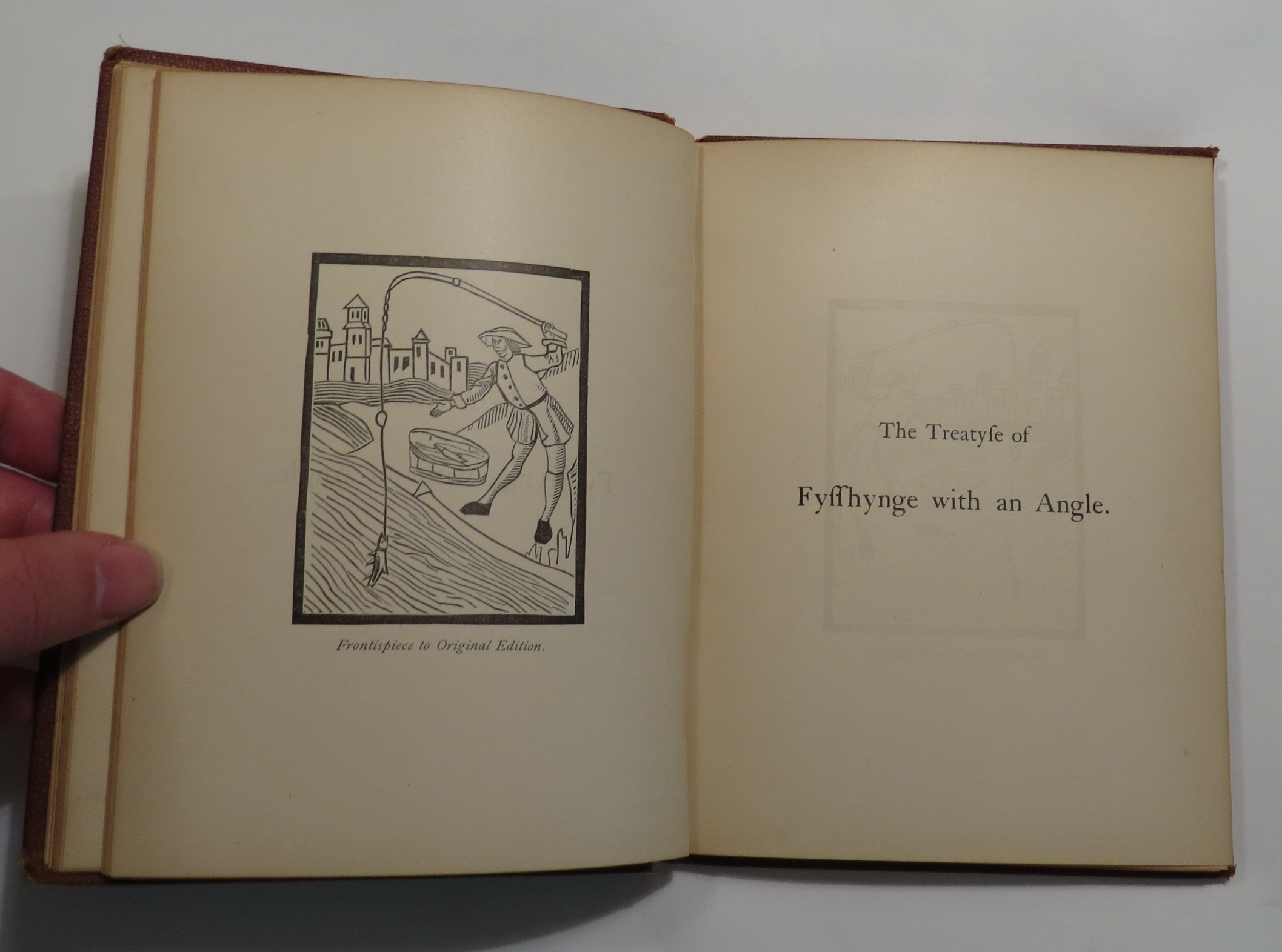 Image for An American Edition of The Treatyse of Fysshynge wyth an Angle, from The Boke of St. Albans, By Dame Juliana Berners, A.D. 1496.