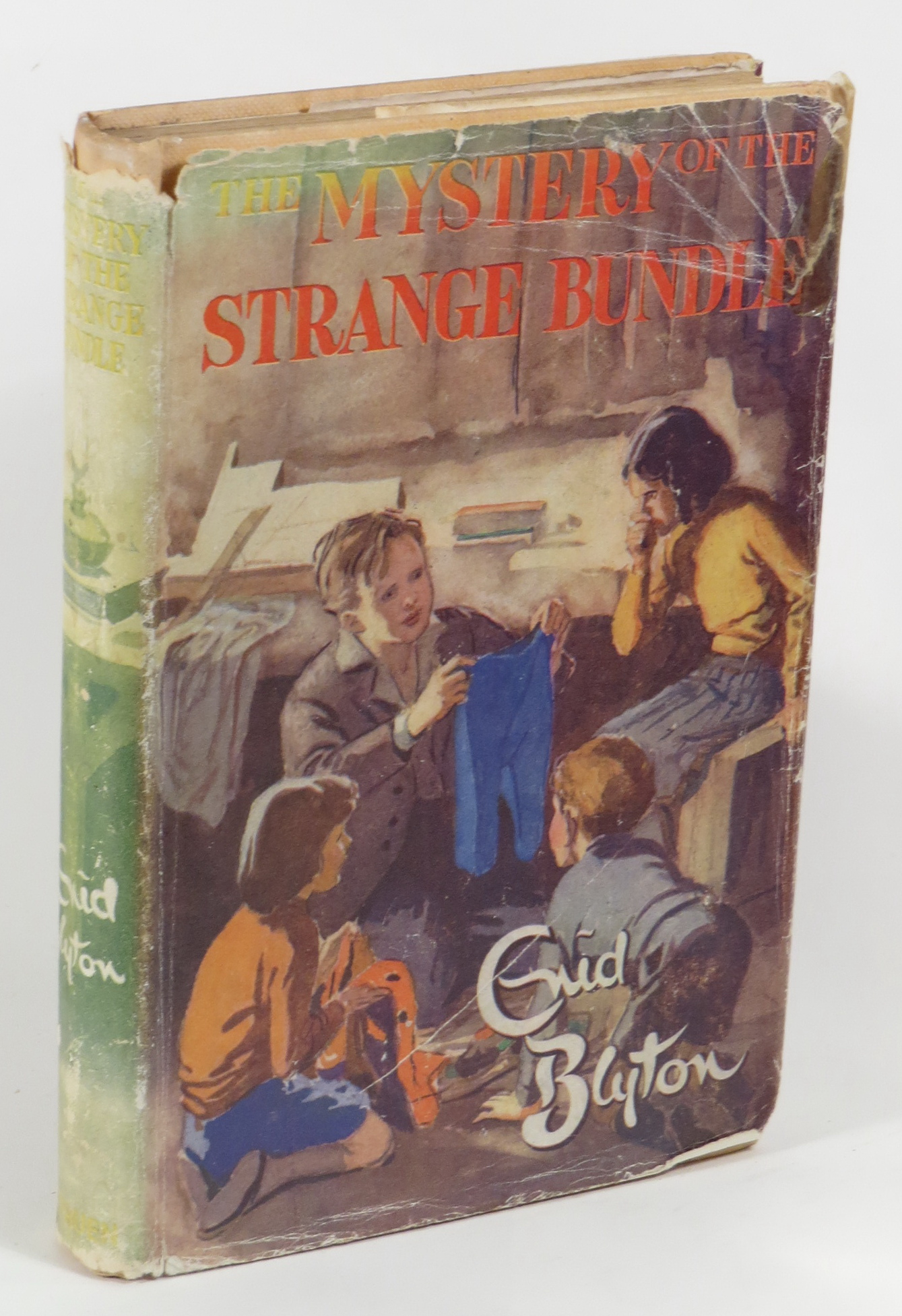 Image for The Mystery of the Strange Bundle - Being the Tenth Adventure of the Five Find-Outers and Dog