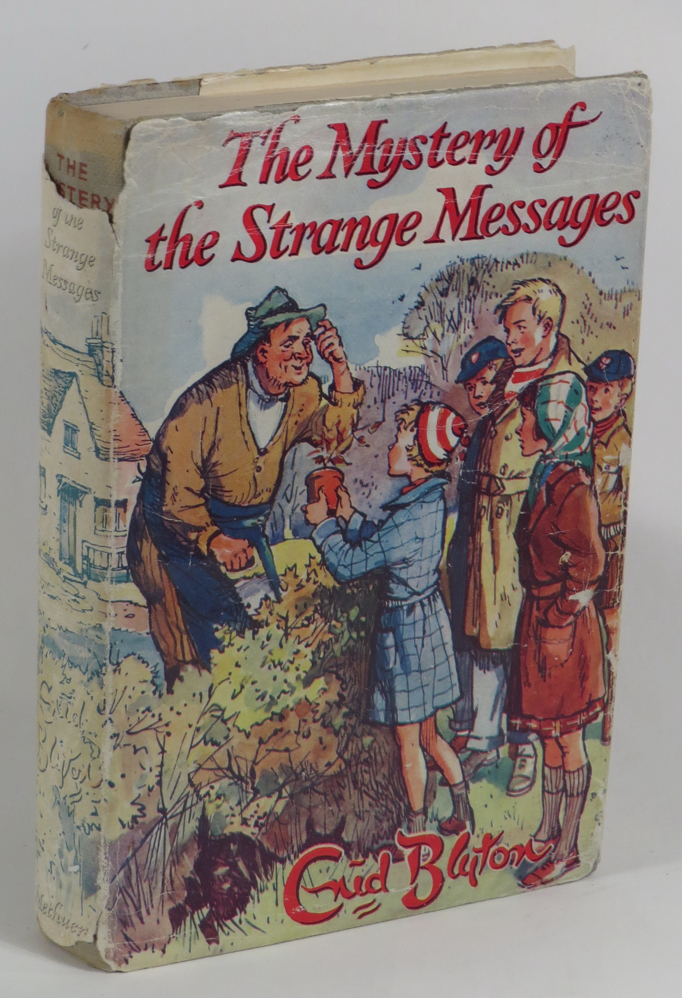 Image for The Mystery of the Strange Messages - Being the Fourteenth Adventure of the Five Find-Outers and Dog