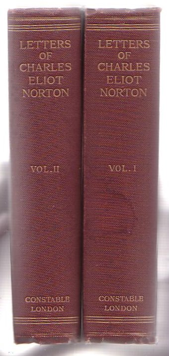 Image for Letters of Charles Eliot Norton. Two Volumes.