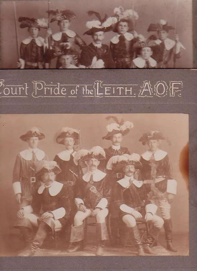 Image for Two Early Lodge Photos: Court Pride of the Valley. Juvenile Foresters; Court Pride of the Leith. A. O. F [Ancient Order of Foresters]
