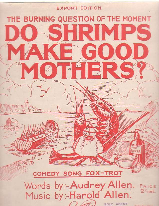 Image for Do Shrimps Make Good Mothers?