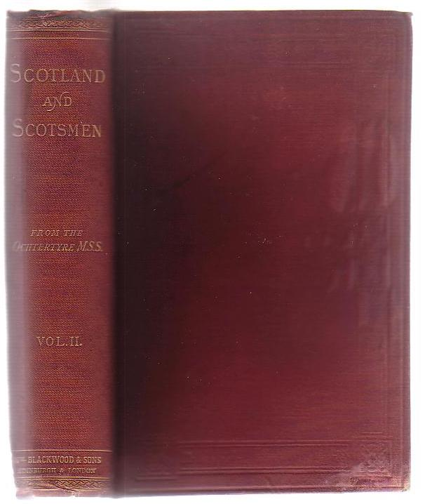 Image for Scotland and Scotsmen in the Eighteenth Century. Volume II (of two volumes)
