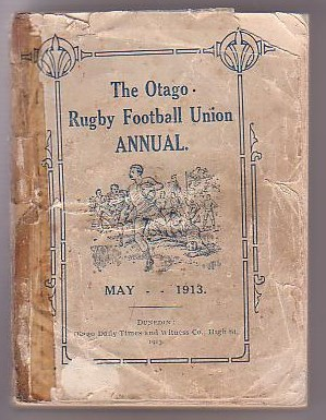 Image for The Otago Rugby Football Union Annual. 1913.