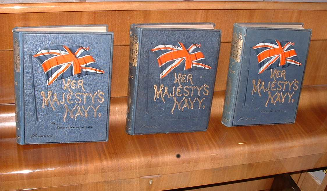 Image for Her Majesty's Navy. Three volumes.