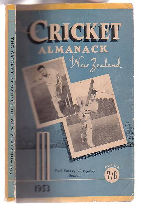 Image for The Cricket Almanack of New Zealand 1953