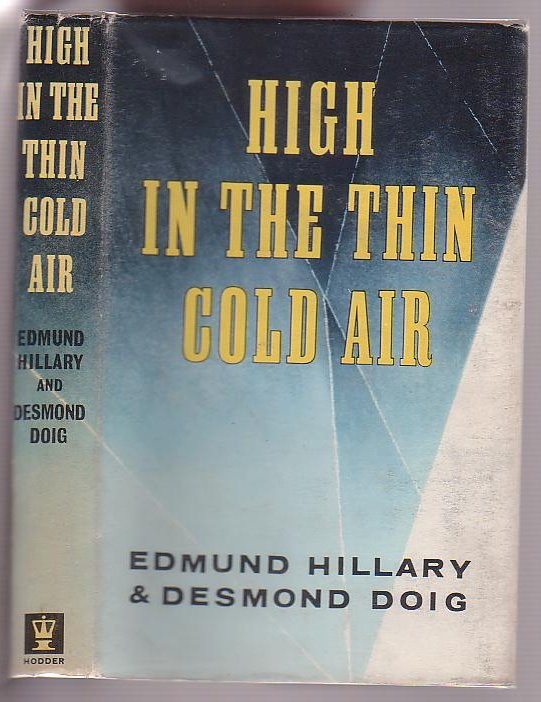 Image for High in the Thin Cold Air
