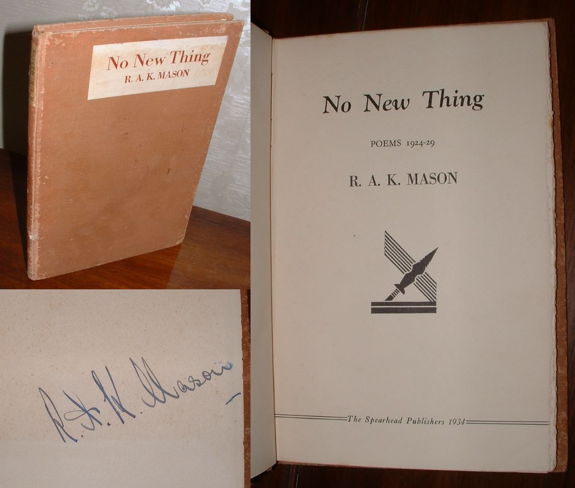 Image for No New Thing