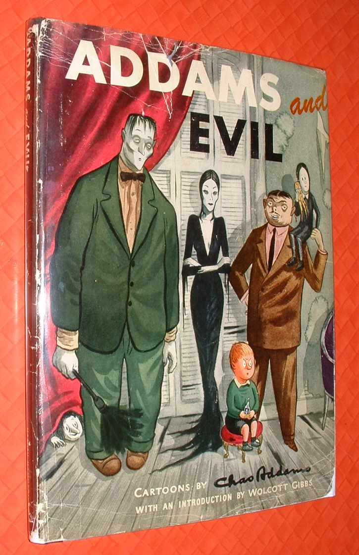 Image for Addams and Evil: An Album of Cartoons