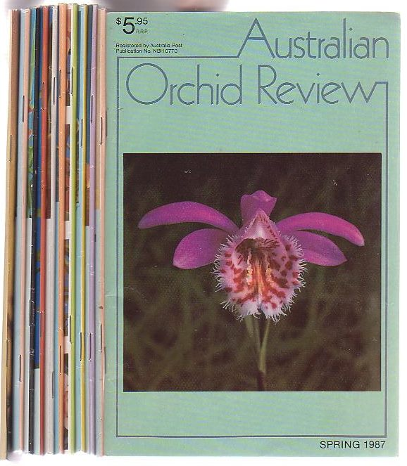 Image for Australian Orchid Review. A run of 11 issues from Autumn 1985 to Spring 1987.