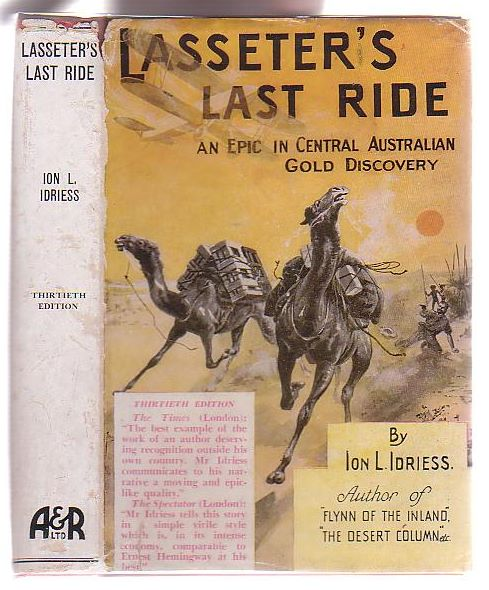 Image for Lasseter's Last Ride: An Epic in Central Australian Gold Discovery