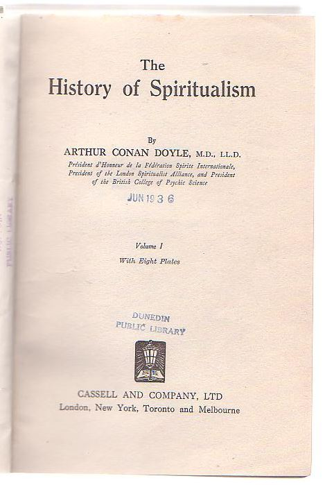 Image for The History of Spiritualism. Volume I.