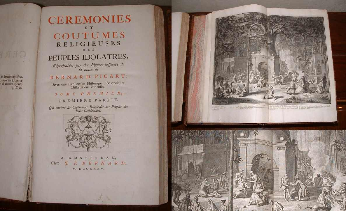 Image for Ceremonies et Coutumes Religieuses des Peuples Idolatres. Tome Premier & Tome Second [Two volumes]