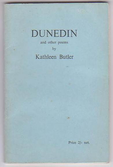Image for Dunedin and Other Poems