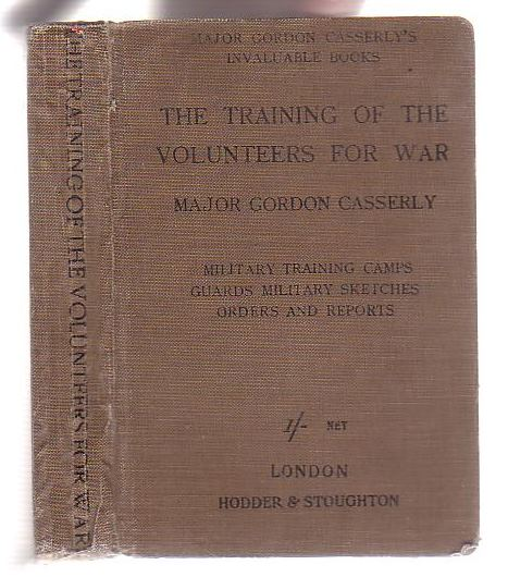 Image for The Training of the Volunteers for War