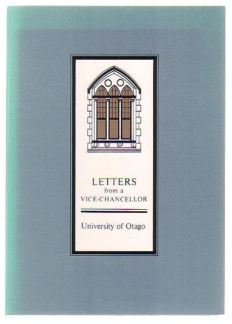 Image for Letters from a Vice-Chancellor: Otago University 1973-1985