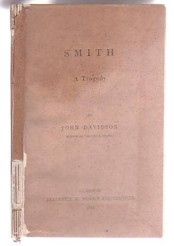 Image for Smith: A Tragedy