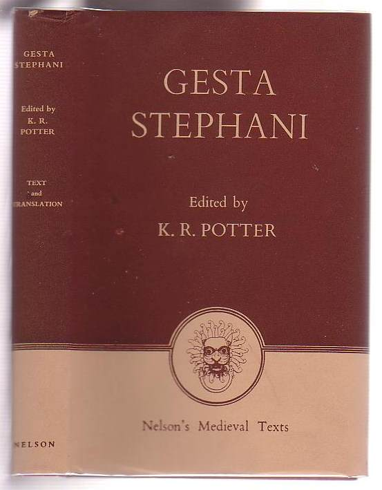 Image for Gesta Stephan / The Deeds of Stephen