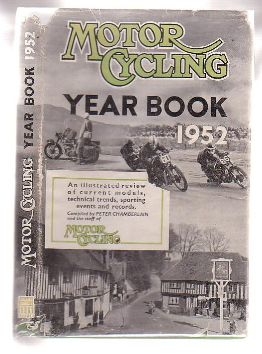 Image for Motor Cycling Year Book 1952.