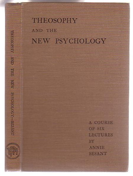 Image for Theosophy and the New Psychology