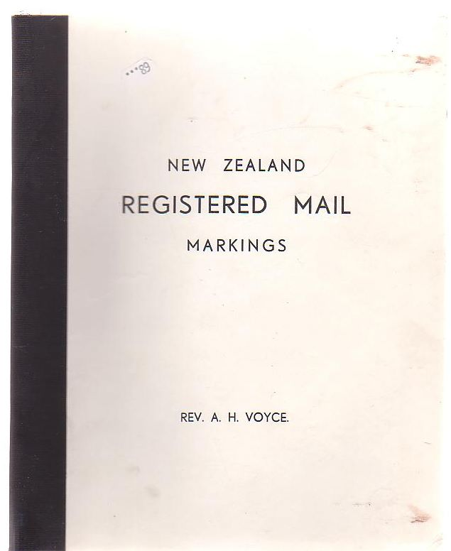Image for New Zealand Registration Markings