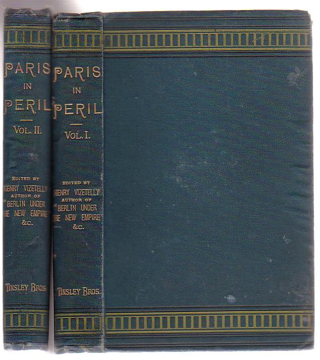 Image for Paris In Peril (Two Volumes)