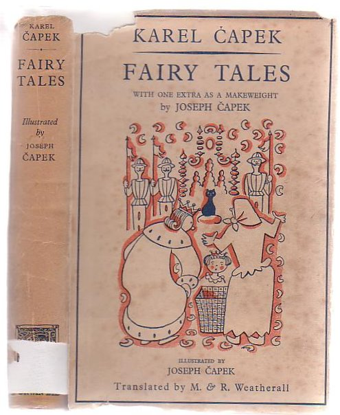 Image for Fairy Tales  With One Extra As A Makeweight By Joseph Capek