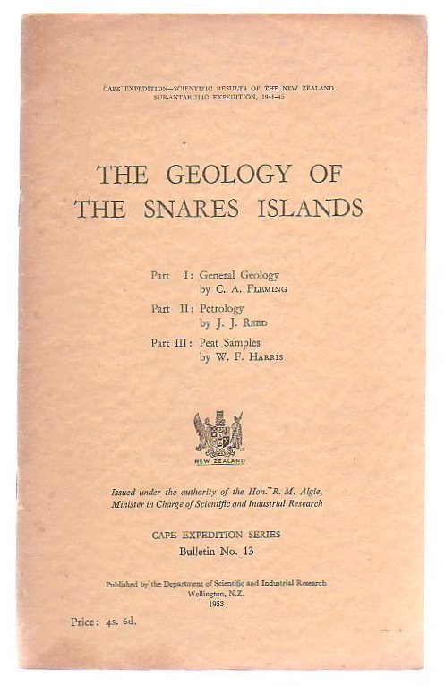 Image for The Geology of the Snares Islands