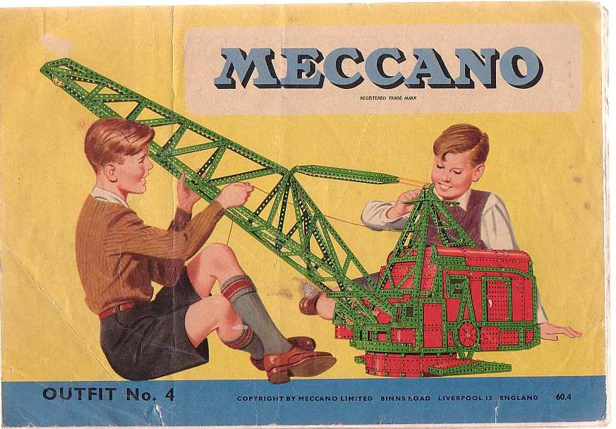 Image for Meccano Outfit No. 4 (60.4)