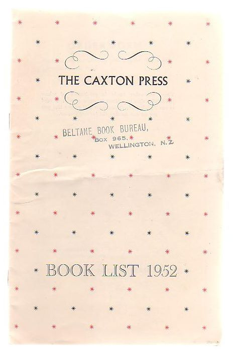Image for The Caxton Press Book List 1952