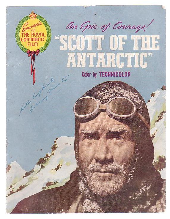 "Image for An Epic Of Courage! ""Scott Of The Antartic"" Color-by Technicolor"