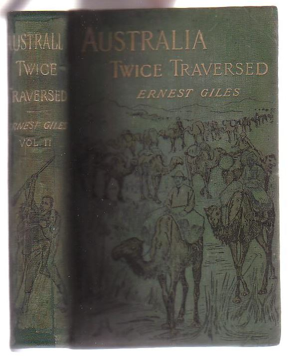 Image for Australia Twice Traversed. Volume Two only.