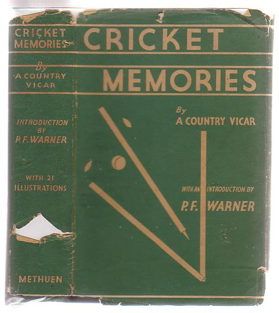 Image for Cricket Memories By A Country Vicar