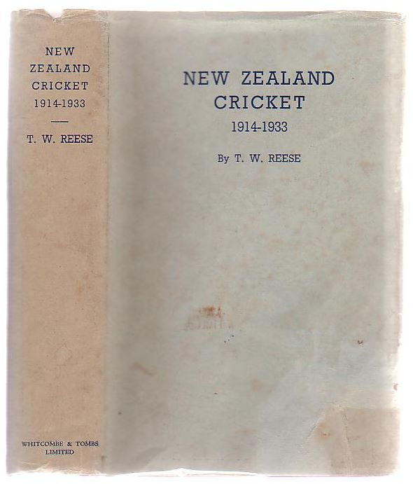 Image for New Zealand Cricket 1914 - 1933 (Volume Two only)