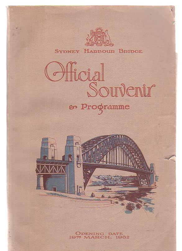 Image for Sydney Harbour Bridge Official Souvenir & Programme