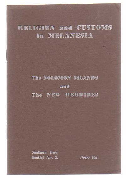 Image for Religion And Customs In Melanesia