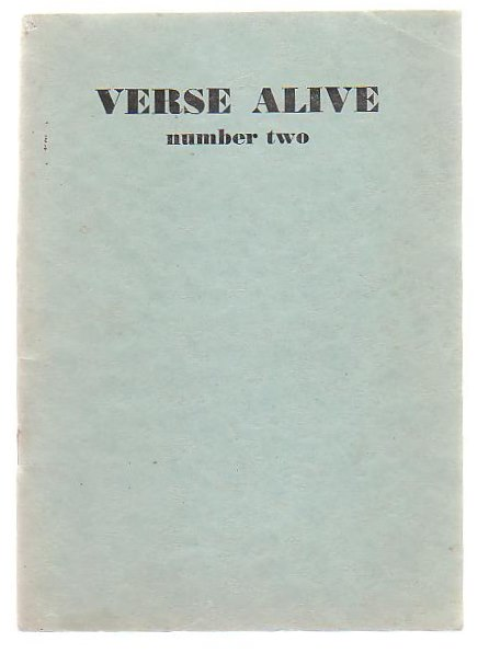Image for Verse Alive Number Two