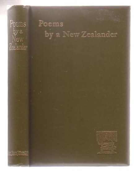 Image for Poems By A New Zealander
