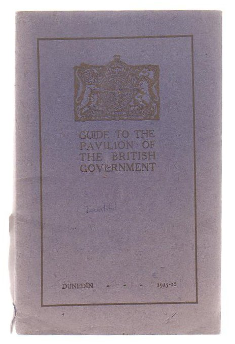 Image for Guide To The Pavilion Of The British Government