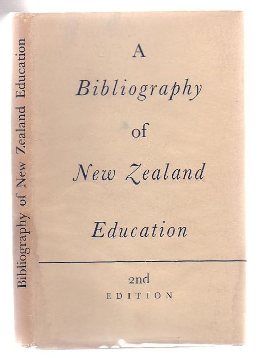 Image for A Bibliography Of New Zealand Education