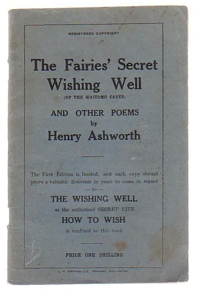 Image for The Fairies' Secret Wishing Well (Of The Waitomo Caves) And Other Poems