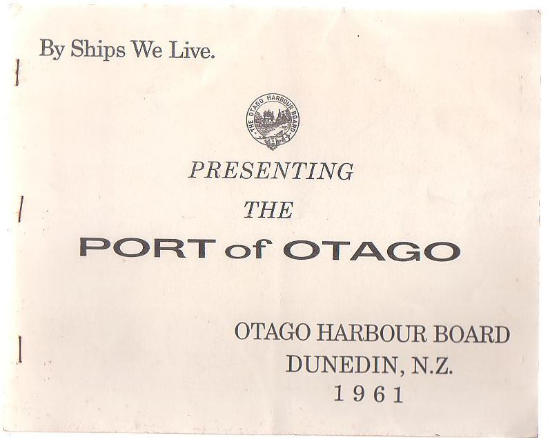 Image for Presenting The Port Of Otago