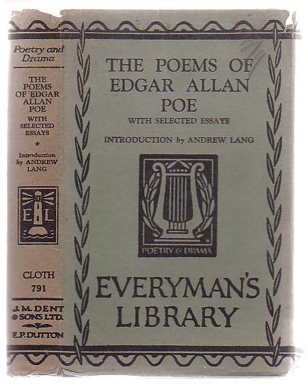 Image for The Poems Of Edgar Allen Poe With A Selection Of Essays