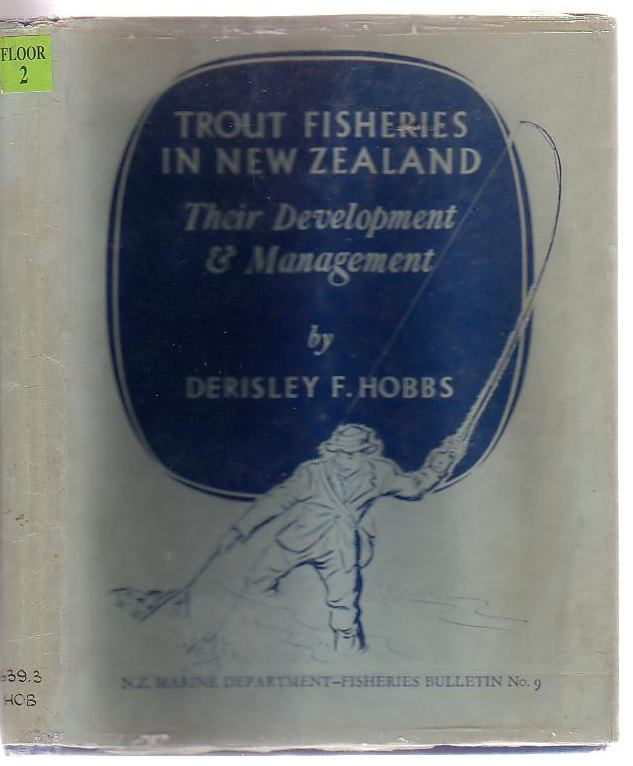 Image for Trout Fisheries In New Zealand Their Development And Management