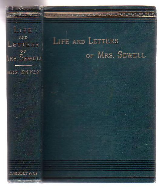 Image for The Life And Letters Of Mrs. Sewell