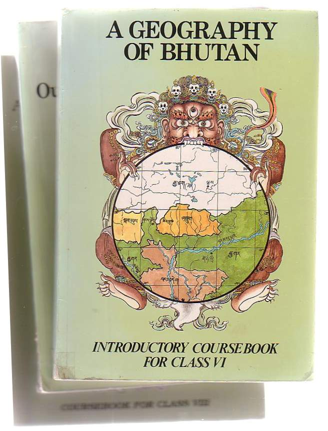 Image for A Geography Of Bhutan (Three Volumes)