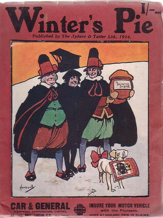 "Image for Winter's Pie Being The Christmas Number Of ""Printers' Pie"""