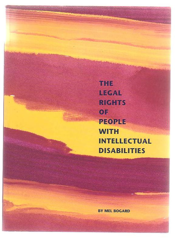 Image for The Legal Rights Of People With Intellectual Disabilities